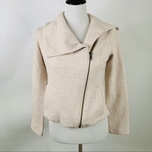 Cabi Quilted Type Cropped Jacket Size XS Beige
